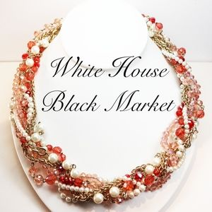 White House Black Market Pearl Necklace